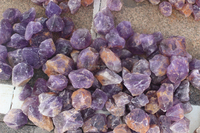Natural raw amethyst quartz crystal tumbled stones rough amethyst rock crystal