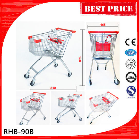 Suitable price industrial shopping cart