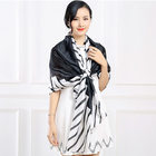 Wholesale new lady fashion silk scarf in China