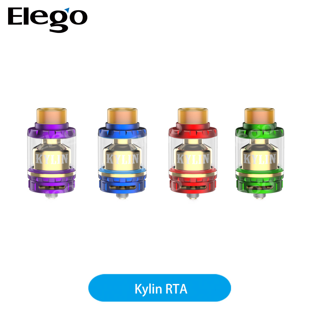 Elego best seller vape tank Vandy Vape Kylin RTA atomizer, optional 2ml/6ml kyklin RTA Tank new color in stock