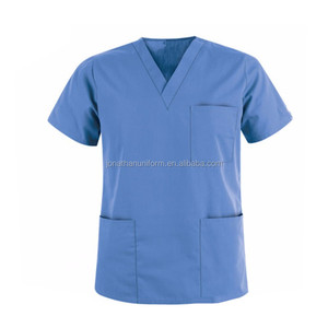 Unisex Medical Uniform , Hospital Scrubs Uniforms Doctor's Uniform Design