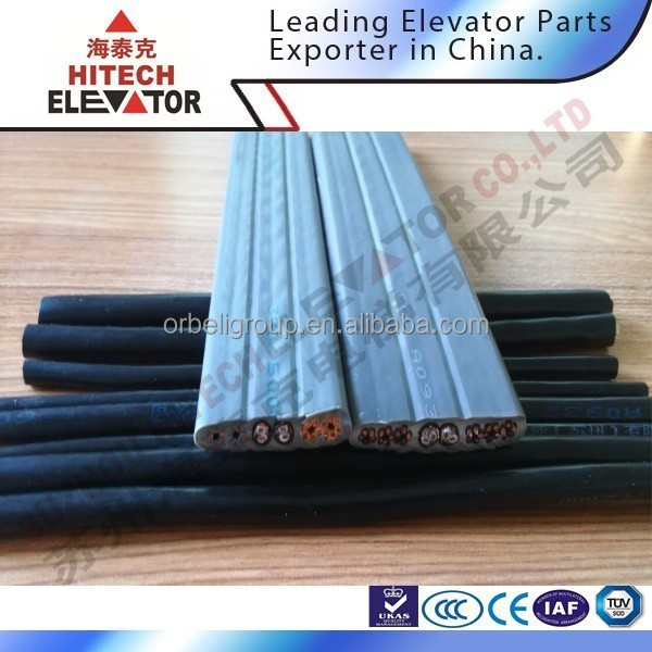 lift shaft cable/flat and round type