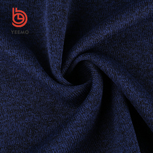 high quality custom 100% polyester hacci knitted fabric fleece fabric for sweaters