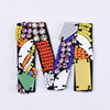 Yongze vintage cheap custom letter M bead embroidered chenille patches for clothing