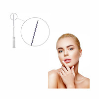 Absorbable 3D 4D COG Polydioxanone PDO Face Lifting Thread Korea for skin tightening