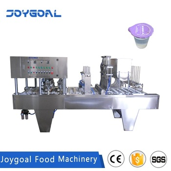 BHP-6 high production capacity juice filling and sealing machine for cup box case