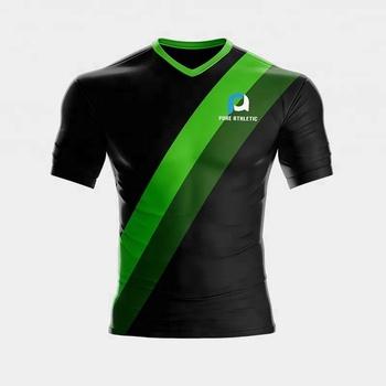 Dri Fit nuevo diseño diferente verde cómodo uniforme del Jersey de fútbol y  pantalones cortos 083ad861fd497