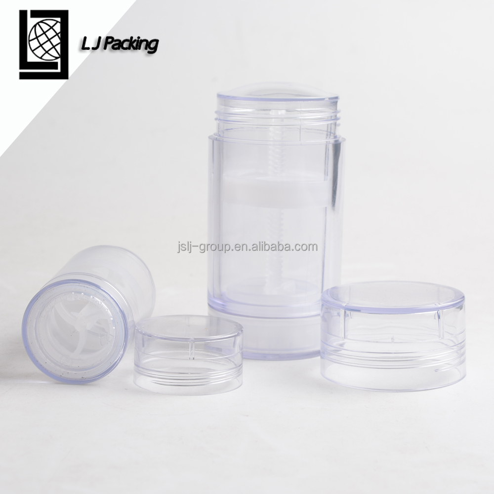 Buy empty plastic solid gel deodorant container 30g 70g