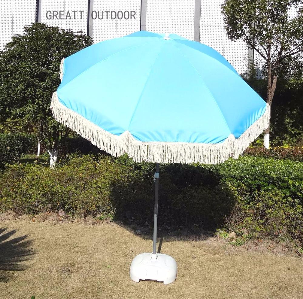 Fringes Fl Beach Umbrella