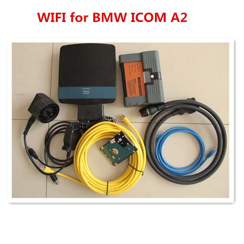 Новый диагностический инструмент wi-fi для bmw icom a2 с жестким диском 500 ГБ экспертный режим 2015.10 программное обеспечение win7 64bit для большинства ноутбуков