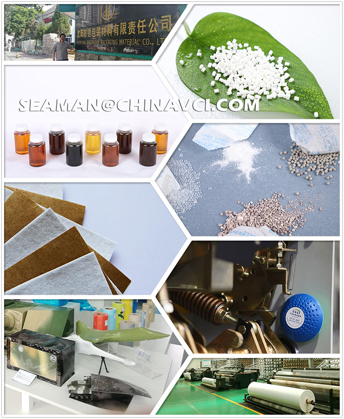 Shanghai Factory Price Strong Tensile Forcer Stretch Film & VCI Antirust Stretch Film, Man Pack or Machine Pack Film