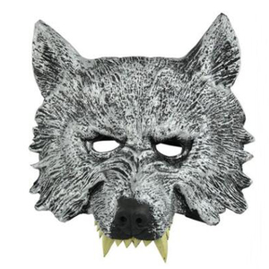 foam halloween party face mask wolf mask 95C023L