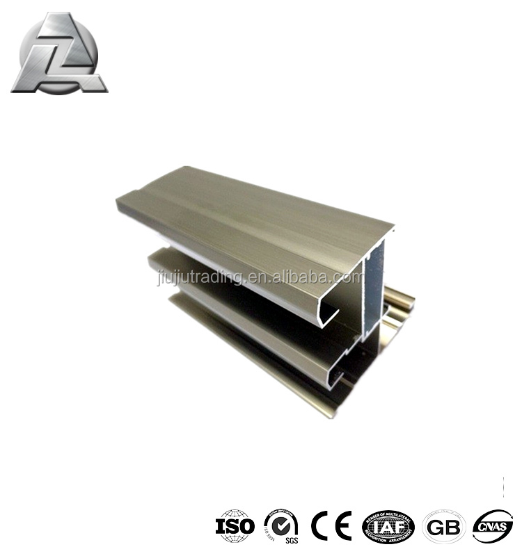 weight of aluminium sliding window mullion sections