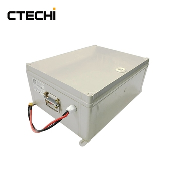 Ctechi Lithium Ion 100v 27ah Rechargeable Battery Pack 25a Discharge Cur Electric Vehicle