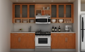 Good Quality Kitchen Furniture Set Hanging Wall Cabinet Design ...