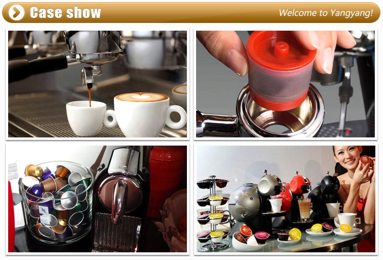 Portable iron chrome plating nespresso rotational coffee holder stainless