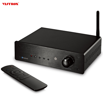 High Quality Bluetooth  Power Amplifier With Remote Control Bluetooth HiFi DAC Power Amplifier For Home Audio