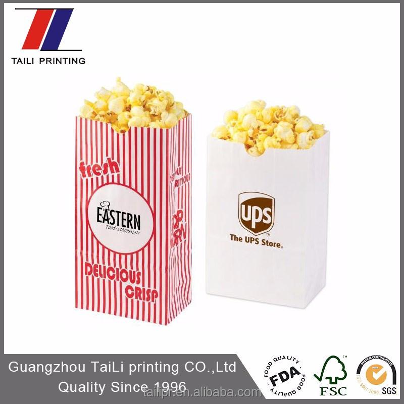 Custom Printed Popcorn Bags Product On Alibaba