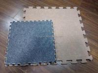 Carpet Bonded EVA Foam Floor Mats Eco Friendly Non Slip Rug Pad