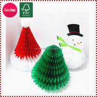 Hanging Paper Xmas Decorations, Handmade Christmas Item