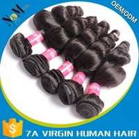 Wholesale red human hair extension course,microbeads hair extensions ponytail