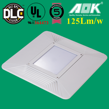 130lm/w Canopy Led Lights Fixtures For Petrol Station 400w Led Gas ...