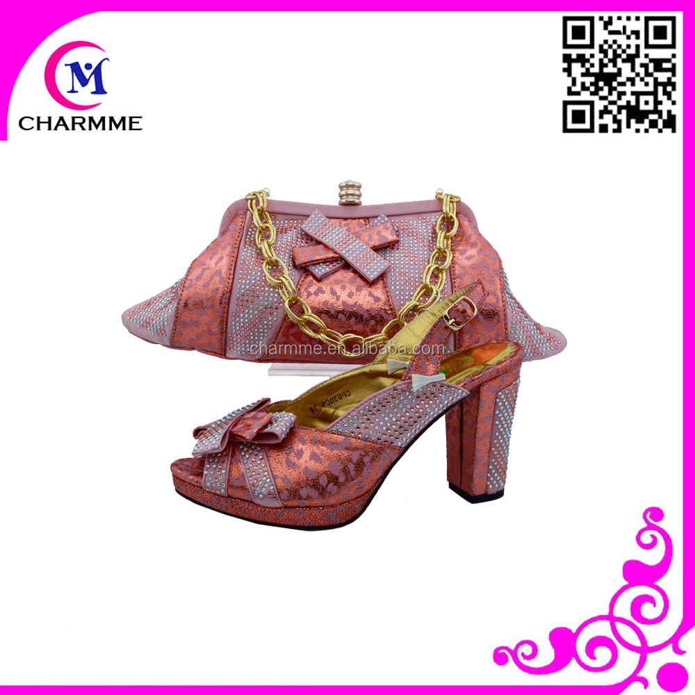 set 643 and stones with bags ladies bag shoe for shoes and party shoes matching CSB with vqwanZFO