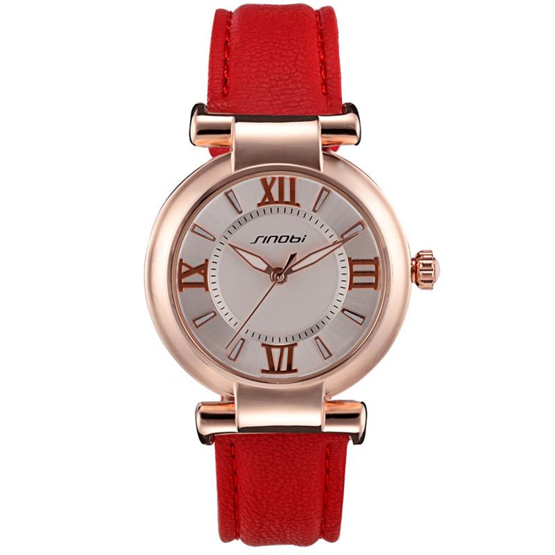 Sinobi марка леди часы аналоговые женщины одеваются часы мода свободного покроя кварцевые часы женщины наручные часы relogio feminino кварц - часы
