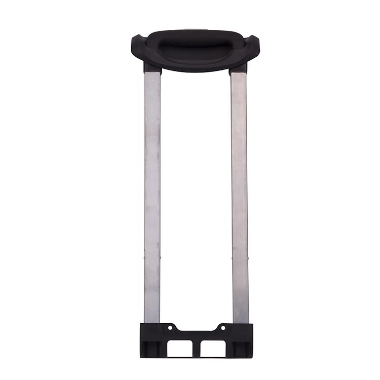 Durable suitcase retractable handle