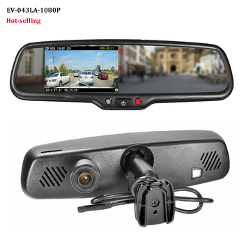 Oem Car Dash Cam Rear View Mirror Gps Bluetooth Camera With Auto