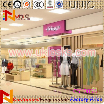32f1b7d7d81 Hot selling clothing store furniture women clothing shop interior design