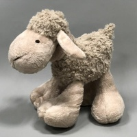 sofo plush sheep toys Custom long plush big feet sheep kids playmate standing sheep gift