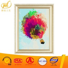 2017 New Picture Hot Air Balloon Diy Crystal Diamond Embroidery Painting Unfinished Nail Arts for Home Decoration Wall a222