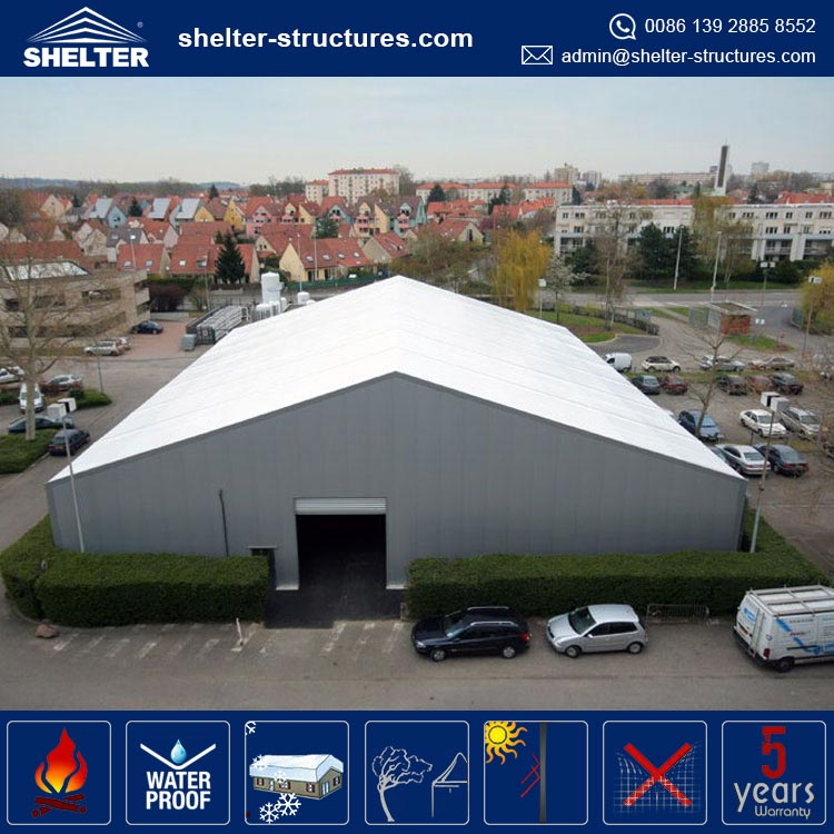 used industrial storage tent