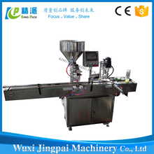 Semi Automatic Manual Bottle Plastic Glass Bottles Capping Filling Machine