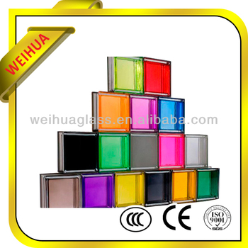 Ce approved tempered glass block manufacturers craft glass for Hollow glass blocks for crafts