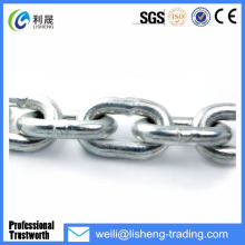 British Standard Hot Dipped Galvanized Short Link Chain 1/8""