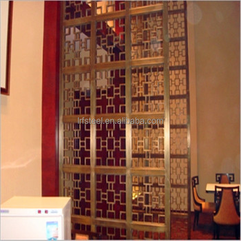 China Factory Commercial Metal Hanging Room Divider Screen Partition