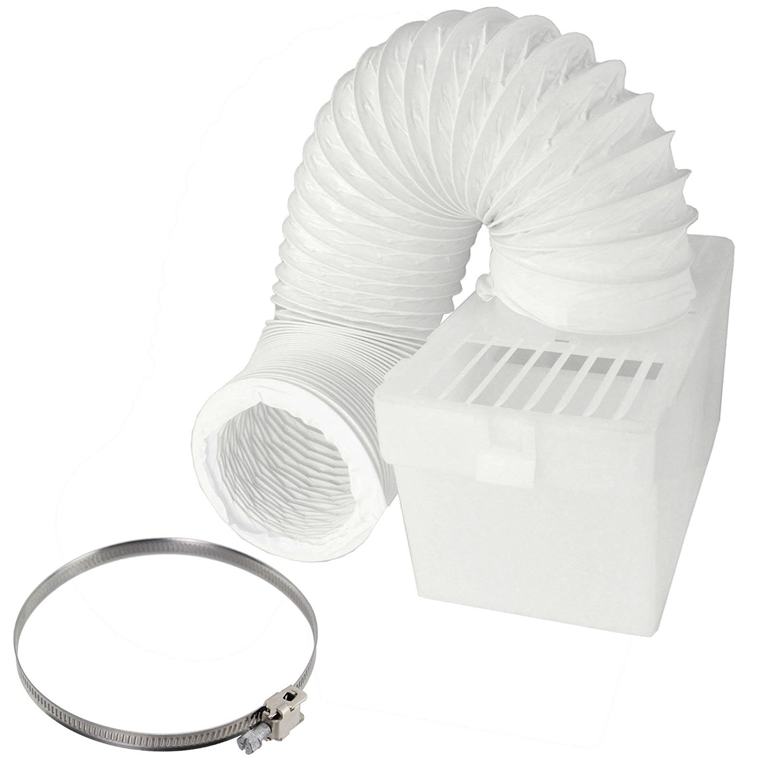 Recessed Hookup Venting Kit For Flex Hose Connector Improve Clothes Dryer Appliance Efficiency Prevent Kinked Hose /& Fire Hazards Inset Dryer Exhaust Box Is Easy to Retrofit In Existing Home /& New Construction. EZ-Flow Dryer Vent Box