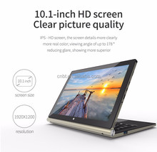 Manufacturers Supply Best 2 In 1 Convertible Laptop & Tablet, Dual OS Tablet Intel Atom 10.1 Inch IPS 2GB RAM 64GB NETBOOK