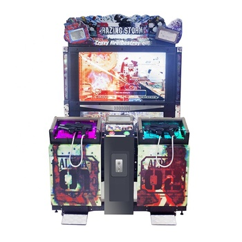 Coin-operated shooting simulator arcade gun shooting simulation game console