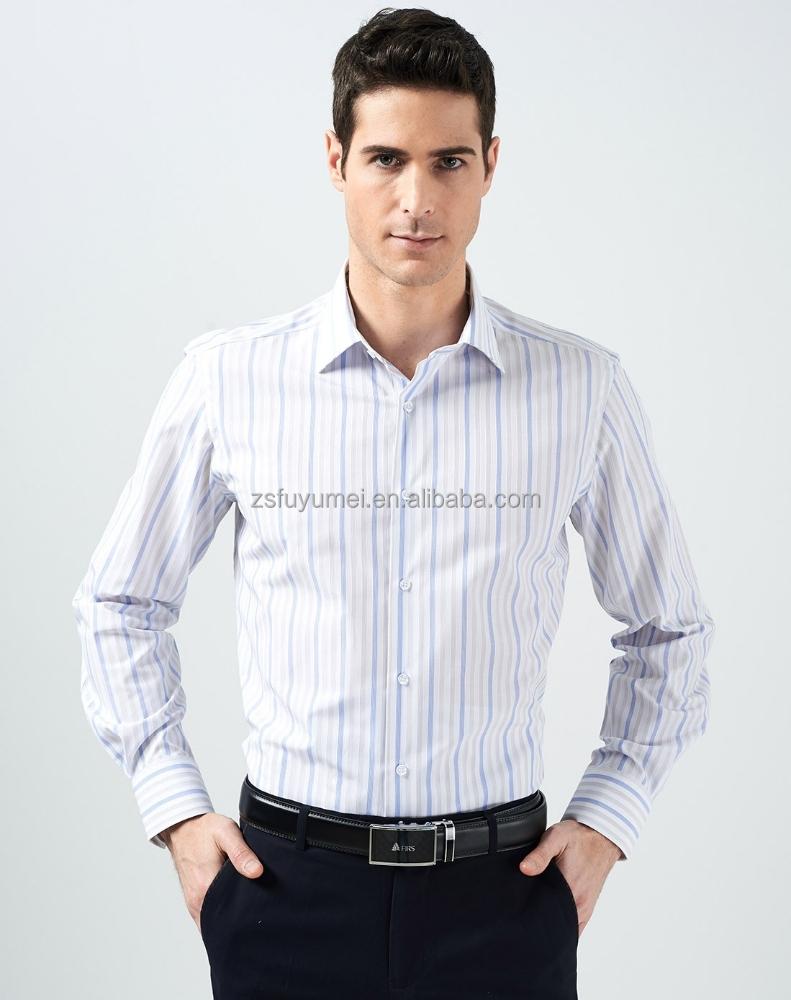 Shirt new design 2015 - 2015 New Style Man Shirt Custom Design Dress Shirt Cotton Stripes Formal Long Sleeve Mens Shirt Buy Men Dress Shirt High Quality Man Shirt Latest Style