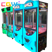 CGW cheap claw crane machine arcade game,crane claw machines vending machine,toy crane game machine for sale