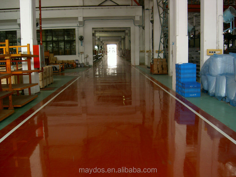 Maydos Scratch resistant clear epoxy resin coating concrete sealer