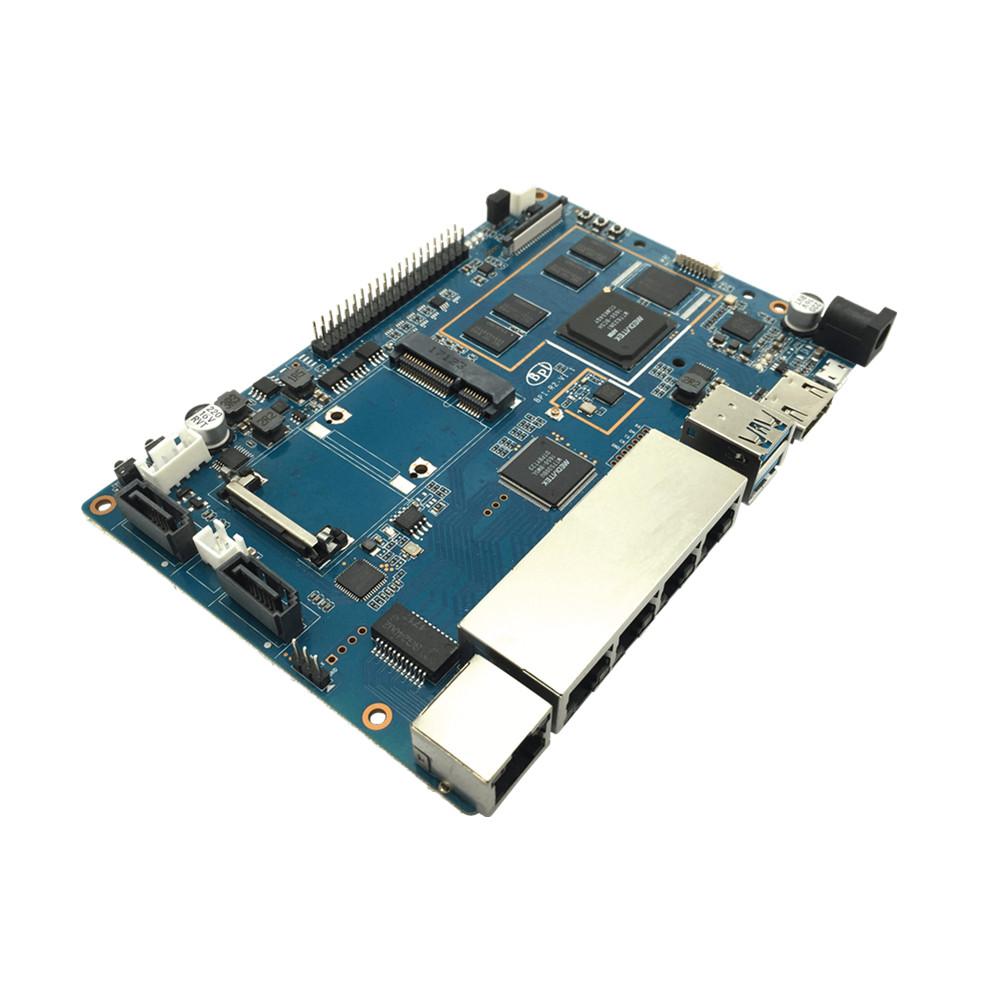 Sbc Wireless Router Mikrotik Banana Pi R2 Mini Pcie And Sata Interfaces  Wifi&bluetooth Onboard - Buy Sbc Wireless Router,Banana Pi R2,Mini Pcie And