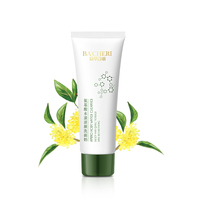 Wholesale Amino Acid Moisturizing Deep Pore Organic Acne Dry Private Label Milk Face Wash For Oily Skin Facial Cleanser