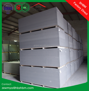 6mm 8mm 10mm 12mm 15mm 18mm 20mm Fireproof Cladding Panel