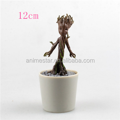 12cm Guardians of the Galaxy Groot Anime PVC Figure New Design Action Figures