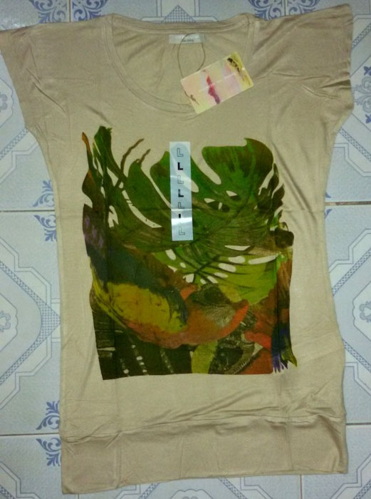 LADIES VISCOZ T SHIRT
