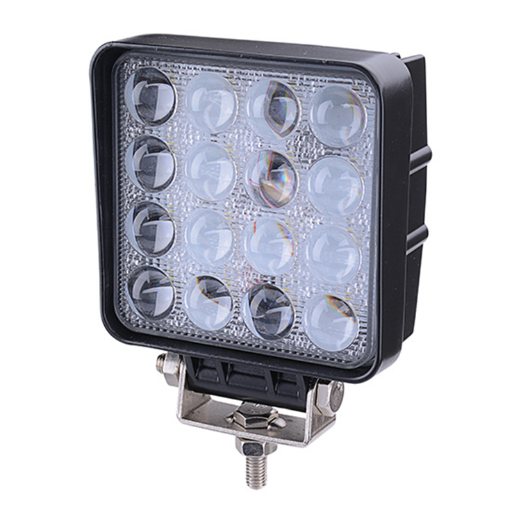 Factory directly car auto parts DC 10-30V portable super bright 3000Lm waterproof 48w led work light